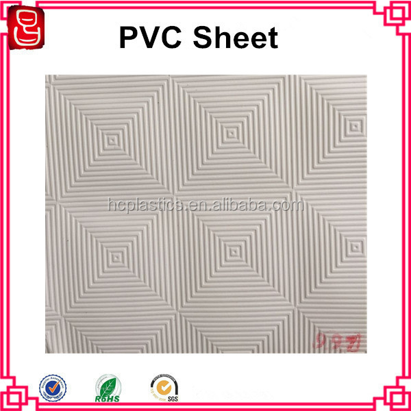 Embossed White PVC Film For Gypsum Ceiling Board