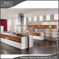 pre fabricated lacquer wooden modern collection kitchen cabinet