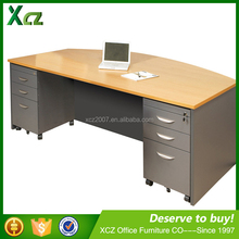 2016 MFC high end office double sided office desk with drawers