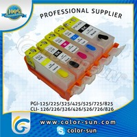 refillable ink cartridge for Canon PGI-425/CLI-426 MG8140/MG6140/MG5240/MG5140/IP4840 with ARC chip