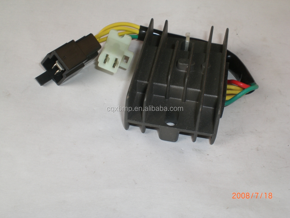 Factory Price Three phase AC Voltage Regulator Rectifier/Single Silicon 12V Rectifier Motorcycle Voltage Regulator