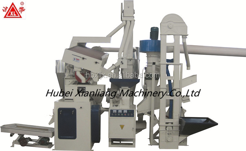 domestic sand roller compact rice mill