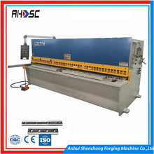 2016 Competitive Price E21S Control System Shearing Machine QC12K 16X3200MM Foot Operate Sheet Cutting Machine For Sale