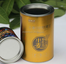 Paper tin can for powder milk