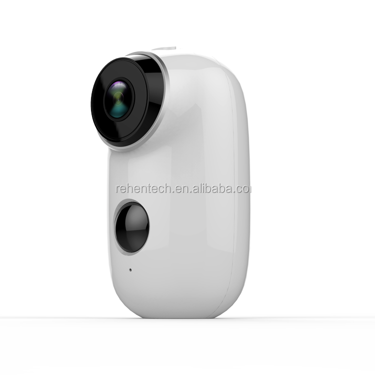 Rehent Wifi Tuya Smart Life Battery <strong>Camera</strong> Alexa Google 1080P IP65 Smart Home Security Night Vision Infrared Outdoor <strong>Camera</strong>