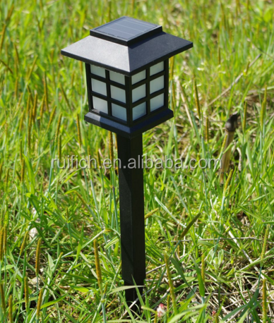 lanscape High Quality Led Solar Light decorative light pole outdoor