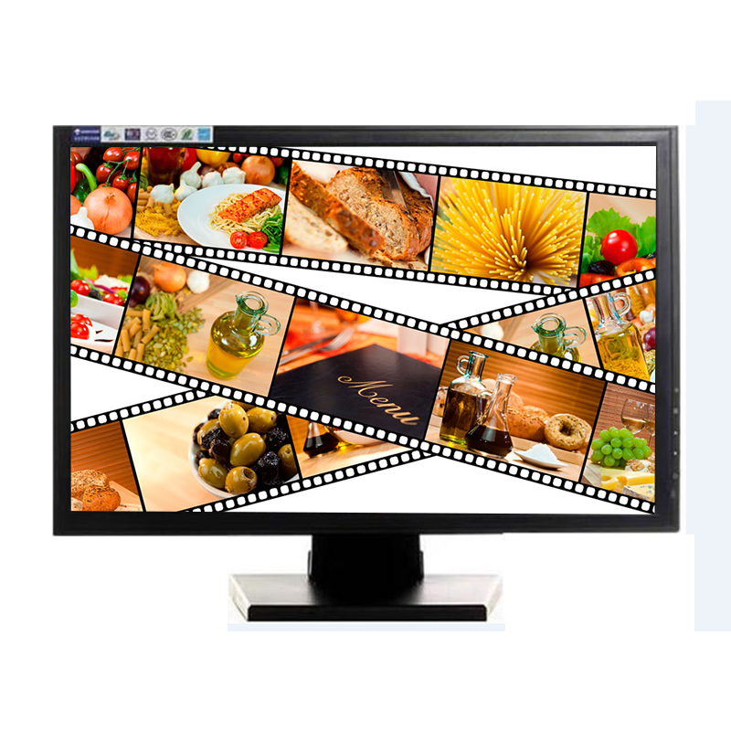 19 inch  high quality wall mount/desktop touch screen monitor