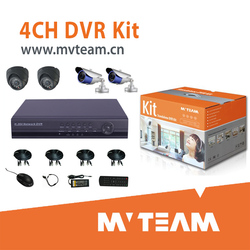 Walmart Qualified Economical 4CH dvr system kit