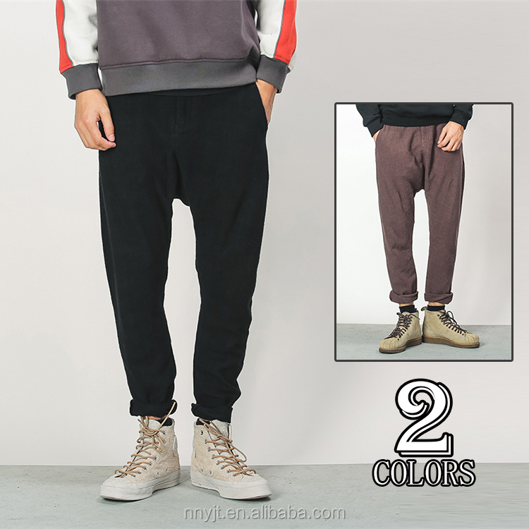 2017 New Fashion Street Style Man Sweat Pants Trousers