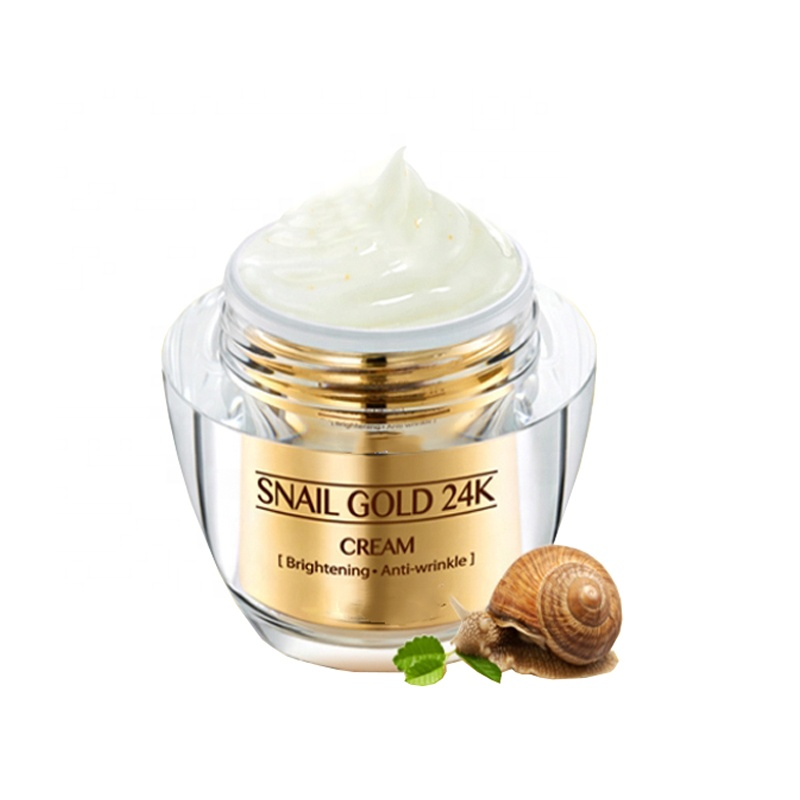 Anti Aging Face Cream With 24k Gold And Snail Slime Extract - Buy ...