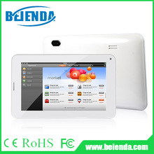 cheap 7inch 2g tablet pc Allwinner A33 quad core processor, HD display 1024 x600 pixels, dual camera with flash light, Bluetooth