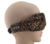 Leopard print sleep eye mask eye patch for lady built in bluetooth stereo headphones