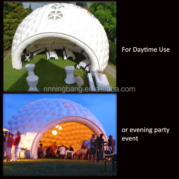 Ningbang 2016 hot sale inflatable lawn tent for event