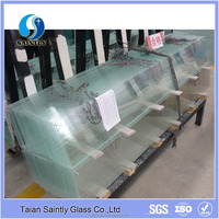 tempered ultra clear float glass/low iron glass