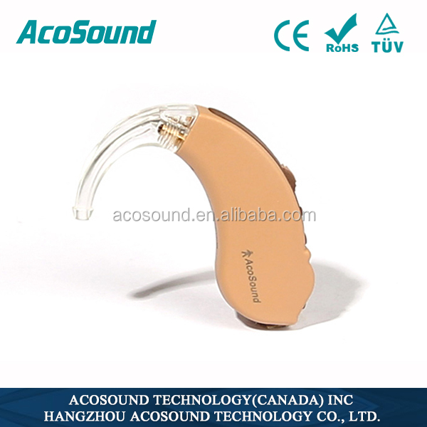 Portable Best Quality Voice AcoSound Acomate 210 BTE Deafness Mini Hearing Aids Prices in India