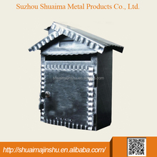 china supplier 300*140*340 Metal modern galvanized iron letterbox