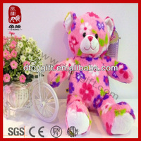 New kid toy 2014 import for bear wholesale wedding/home decoration stuffed colorful teddy bear plush toy bear