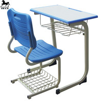 painting coating modern fixed used school chairs and tables for sale