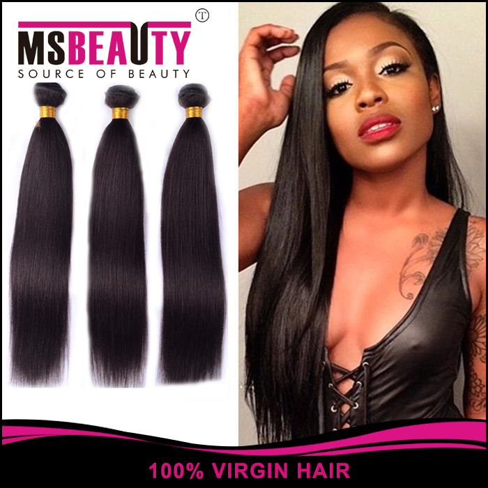Brazilian Virgin Hair Straigh Unprocessed Virgin Brazilian Straight Hair Weave Human