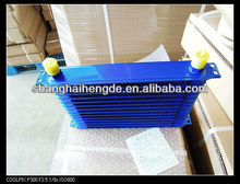 Universal oil cooler 8rows 300*105*50MM oil cooler for caterpillar