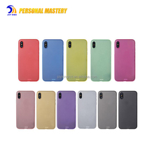 Luxury Smooth Slim Frosted TPU Matte Ultra-Thin Rubberized Soft Back Cover Case For iPhone X
