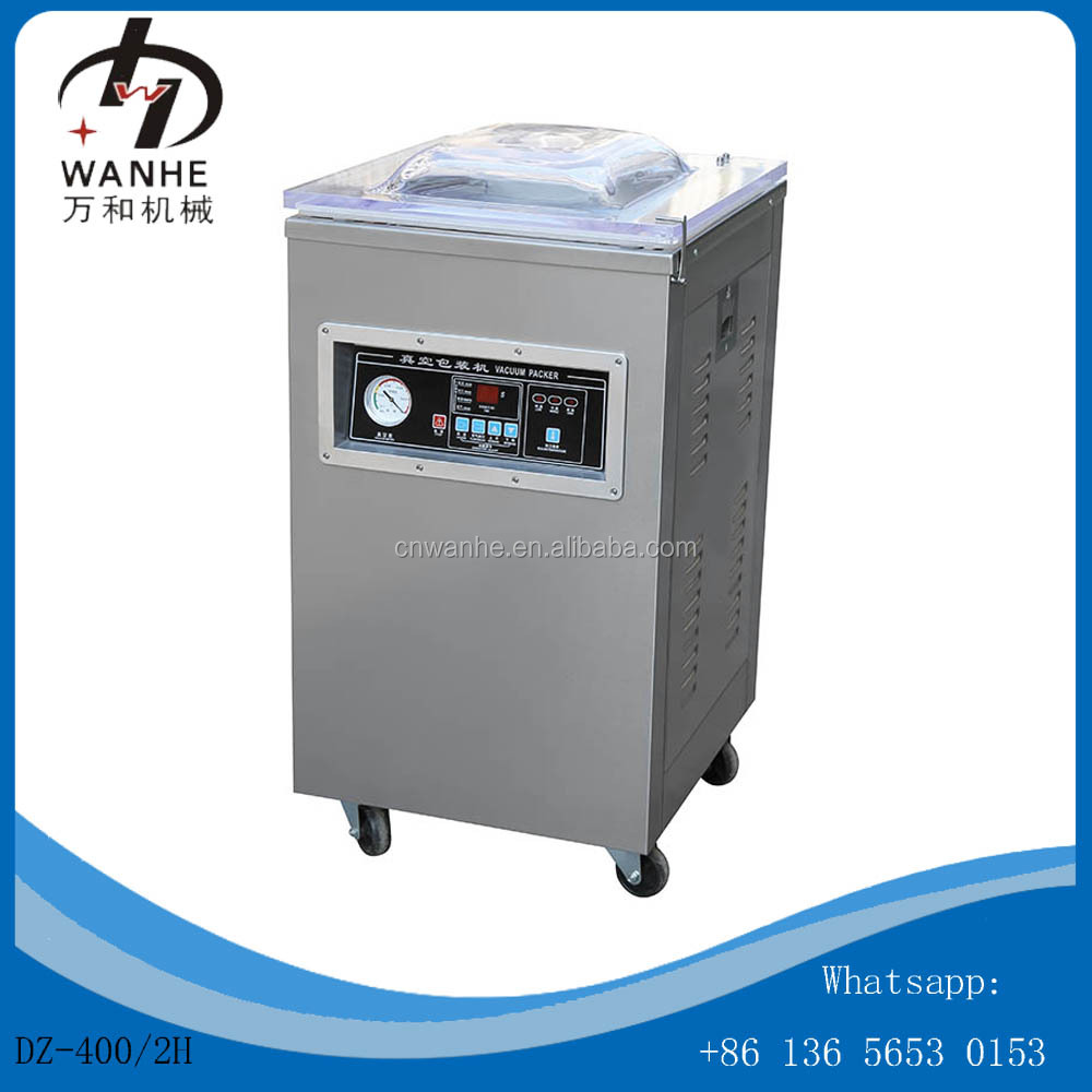 DZ-400 food chicken nitrogen vacuum packing machine bottle vacuum packer glass jar vacuum sealer machine