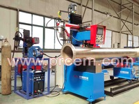 automatic pipe to elbow ring seam welding machine