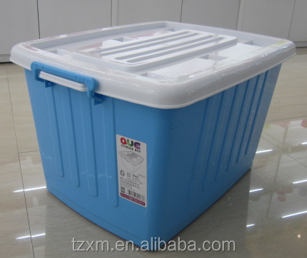 plastic material corrugated storage container case