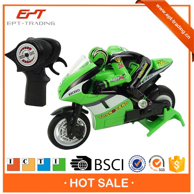 High speed mini racing motorcycle toy 2.4G rc motorcycle for sale