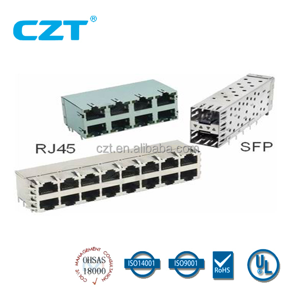 UL approved RJ45 Modular Jack Connector YH-59-06