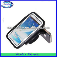 Sport Gym Armband Outdoor Armband Velcro Armband case for Samsung Galaxy Note 2 N7100