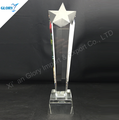 Unique Cheap Star Pillar K9 Crystal Trophy