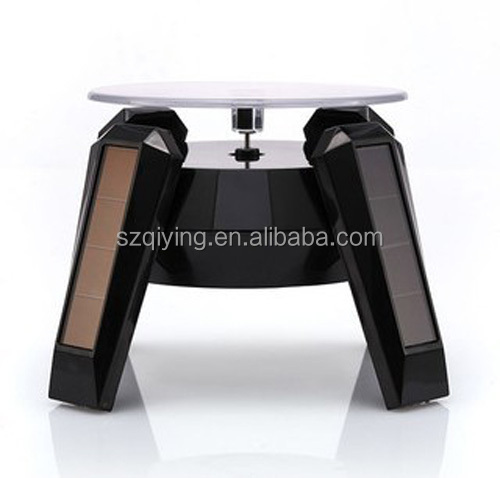 4 Leds Rotating solar display stand, solar advertising display stand