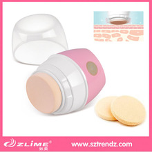 Magic facial electric vibration puff for smooth makeup