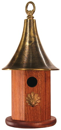Wooden bird house for Garden