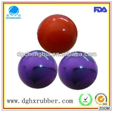 enviromental friendly natural rubber pet toy ball for dog