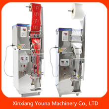 Low cost small slimming tea filling sealing machine top weighing filling and bottom bag forming machine