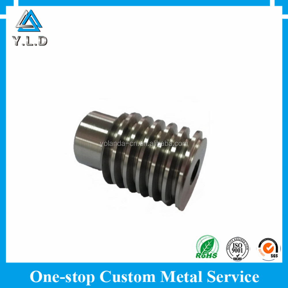 Top Quality Factory Custom High Precision Alloy Steel CNC Machined Worm Gear For Automoblie