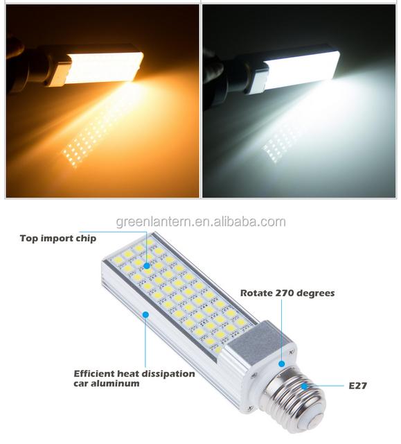 G24 G23 E27 E26 12W 5050 LED Spot Light Corn Plug Lamp Bulb Light Warm/Cool White 85-265V 220V PL LED PCL light Factory Price