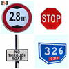 2018 hot sale reflective aluminum road safety signs for Traffic safety