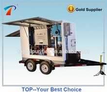 TOP Hot Sale Deft Design Portable Transformer Oil Processor/Insulation Oil Filtration System/Used Oil Recycling Equipment