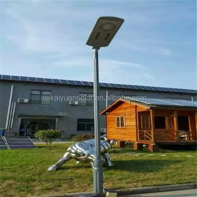 All in one integrated solar LED street lights for outdoor