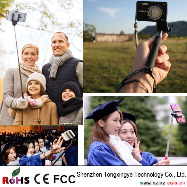 Cable Take Pole Selfie Stick, Selfie Stick Power Bank With Cable, Manufacturer China Selfie Stick