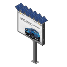 Outdoor advertising digital advertising billboard for sale