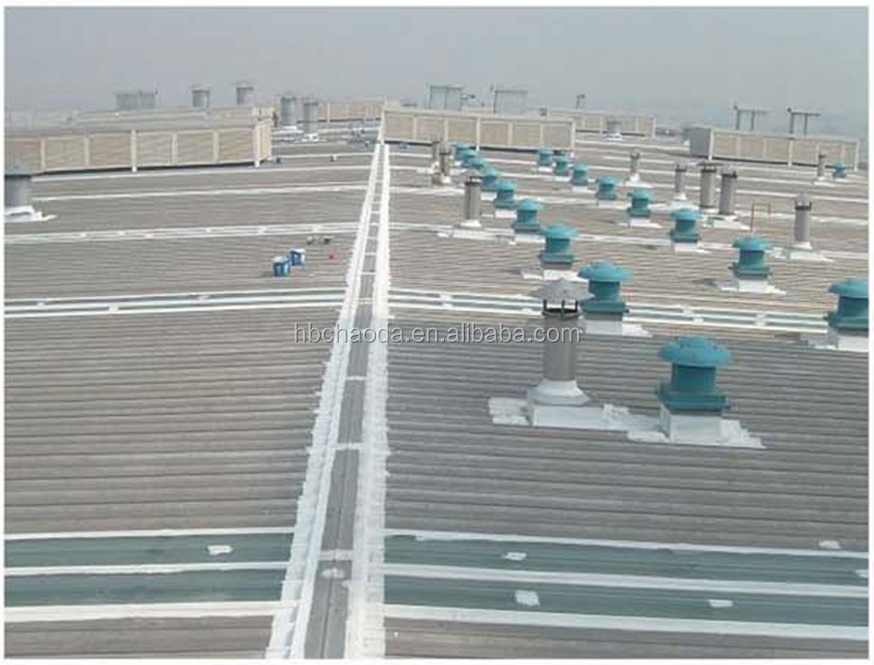 UV resistant waterproof exposed metal/concrete roof coating