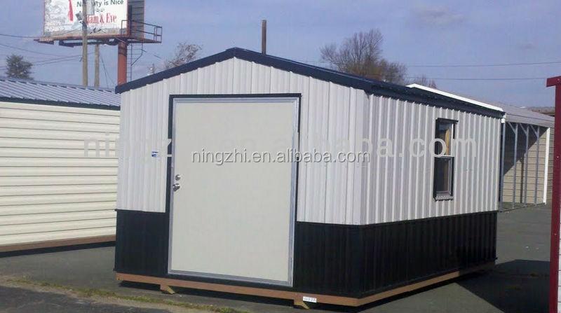 Cobertizos de almacenamiento prefabricados casas for Cobertizos de madera prefabricados