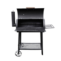 BBQ Barbecue Charcoal Grills For Backyard Outdoor Kitchen Cooking Equipment