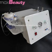 Guangzhou Factory 3in1 derma peeling machine/skin whitening and face rejuvenation machine/face massage tip(CE Certificate)