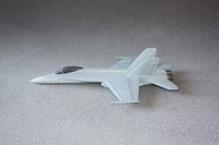 F-16 C Wooden Desktop Model Airplane ON-STOCK
