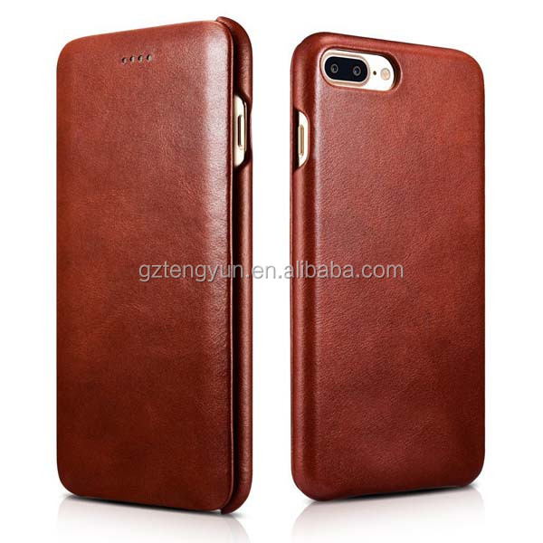 universal smart phone wallet style leather case PU flip book case factory supplier smartphone case for iphone 7
